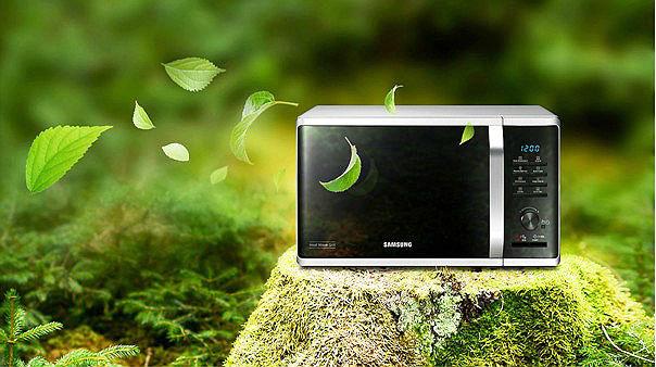 эко-режим микроволновая печь Samsung серии MW3500K