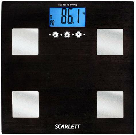 Бамбуковые напольные весы Scarlett SC–BS33E005