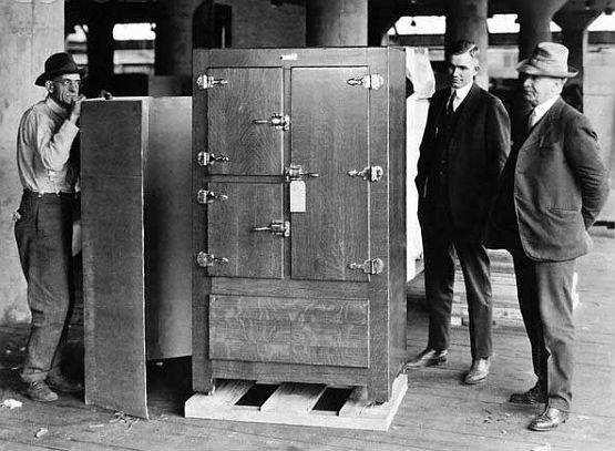первый агрегат с машинным охлаждением появился на свет