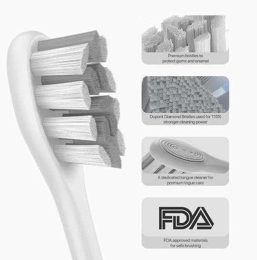 Умная электрическая зубная щетка Oclean Xpro Elite